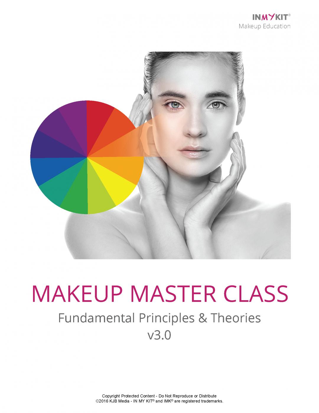 Makeup Master Class Workbook