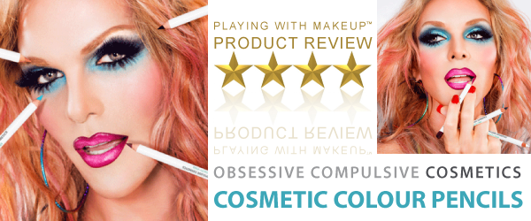 Product Review – OCC Cosmetic Colour Pencils